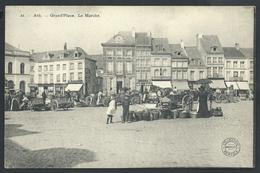 +++ CPA - ATH - Grand'Place - Le Marché - Markt - Bertels  // - Ath