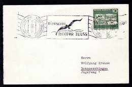 FÄHRSCHIFF THEODOR HEUSS GROSSENBRODE-GEDSER 17.11.61 FÄHRSCHIFF THEODOR HEUSS