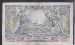 10.000 Frank - Francs = 2000 Belgas  - Type 1929  M 110c - Zeer Fraaie Tot Mooie Staat - [ 2] 1831-... : Belgian Kingdom