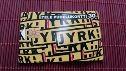Phonecard Finland  Used Rare - Finlande