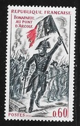N° 1730    FRANCE  -  NEUF  -  BONAPARTE AU PONT D'ARCOLE   -  1972 - France