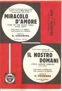 MIRACOLO D'AMORE - IL NOSTRO DOMANI GOEHRING - VOUMARD - Folk Music