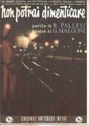 NON POTRAI DIMENTICARE  Pallesi - Malgoni  Edizioni Southern Music - Musica Popolare