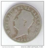 EL SALVADOR 10 CENTAVOS 1968 - El Salvador