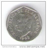 EL SALVADOR 5 CENTAVOS 1993 - Salvador