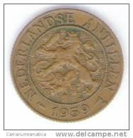 ANTILLE OLANDESI 2 1/2 CENT 1959 - [ 4] Colonie