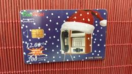 Phonecard Christmas  Used  Rare