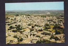CPSM 30 - GALLARGUES-LE-MONTUEUX - En Avion Au Dessus Du Village Dans Le Fond : L'Autoroute Du Languedoc TB PLAN Détails - Gallargues-le-Montueux