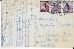 BÖHMEN UND MÄHREN - 1940 - CARTE De VELKE MEZIRICI => GENEVE (SUISSE) - Bohême & Moravie