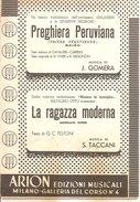 PREGHIERA PERUVIANA - LA RAGAZZA MODERNA  Gomera - Taccani  Arion Edizioni Musicali - Musica Popolare
