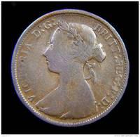 GREAT BRITAIN / GRAN BRETAGNA - QUEEN VICTORIA -  1/2 PENNY ( 1885 ) - 1816-1901: 19. Jh.