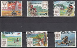 Filipinas 1623/1628 ** Foto Estandar. 1988 - Philippines
