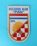 PETANQUE CLUB PAG - Croatian Rare Patch * Boule Bowls Petanca Bocce Jeu De Boules Bocha * PAG LACE ( Dentelle ) - Sports