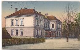 SCHWARZENAU - Bahn - Gastwirtschalt - 1921 Postkarte Nach Budapest Geschickt - Foto Scheider, Zwettl - Verlag Sallmayer - Stations Without Trains