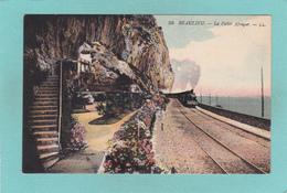 Old Postcard Of Beaulieu-sur-Mer, Provence-Alpes-Cote D'Azur, France.,R32. - Provence-Alpes-Côte D'Azur