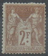 France - N°105 Neuf* - 1898-1900 Sage (Tipo III)