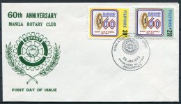 1979 Philippines Manila Rotary Club FDC. First Day Cover - Philippines