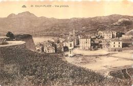 CALVI PLAGE VUE GENERALE - Calvi