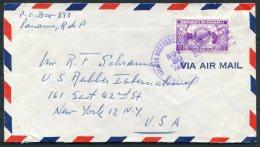 1955 Panama Rotary Airmail Cover - USA - Panama