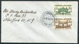 1955 Ecuador Rotary International FDC Cover - Ecuador