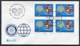 1979 Argentina Rotary International FDC Cover - FDC