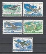RUSSIE. YT PA 138/141 Et 142  Neuf ** Avion De La Compagnie Aéroflot 1979