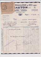 Vieux  Papier : Orne : SEES  Fonderie  Et  émaillerie - Vieux Papiers