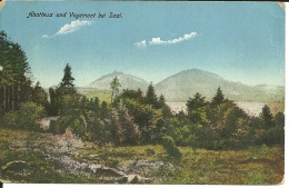 Cpa,   Alsace  Occupée , Abatteux Et Voyemont Bei Saal  1916, Fedpost Guerre 14/18  (74/75) - France