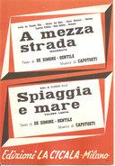 A MEZZA STRADA - SPIAGGIA E MARE DE SIMONE GENTILE CAPOTOSTI - Musica Popolare