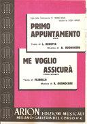 PRIMO APPUNTAMENTO - ME VOGLIO ASSICURA'  Buonocore Beretta Filibello  Arion Edizioni Musicali - Musica Popolare