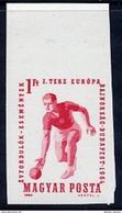 HUNGARY 1964 European Bowling Championship Imperforate  MNH / **.  Michel 2041B - Hungary