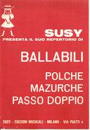 SUSY PRESENTA IL SUO REPERTORIO DI BALLABILI (II) - Musica Popolare