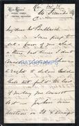 71506 ARGENTINA CARTA AL SR ADOLFO BULLRICH FERROCARRIL TRAIN TREN CENTRAL ARGENTINO AÑO 1889 NO POSTAL POSTCARD - Alte Papiere