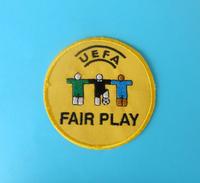 UEFA - FAIR PLAY ... Nice Rare Embroidered Football Patch * Soccer Fussball Calcio Futbol Futebol Foot Ecusson Flicken 1 - Apparel, Souvenirs & Other