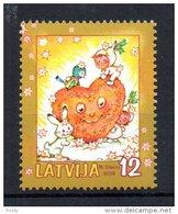 LETTONIE - LATVIA - COEUR - HEART - 2004 - - Letonia