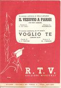 IL VESUVIO A PARIGI - VOGLIO TE Filibello Fabor  R. T. V. Edizioni Musicali - Musica Popolare