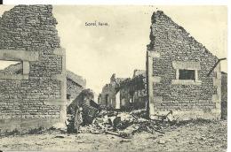 Cpa,   Vers Verdun , Ferme Sorel , Guerre 14/18,  1915  , Feldpost  5 Res. Korps.  (88/89) - Verdun