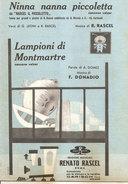 NINNA NANNA PICCOLETTA - LAMPIONI DI MONTMARTRE  Rascel Donadio  Edizioni Musicali Renato Rascel - Musica Popolare