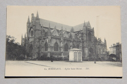 BORDEAUX (GIRONDE), Eglise Saint-Michel - Bordeaux