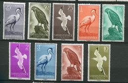 Sahara Espagnol ** N° 150 à 158 - Série Courante. Oiseaux - - Spaanse Sahara