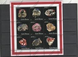 GUINEA BISSAU Nº 927 AL 935 - Minerali
