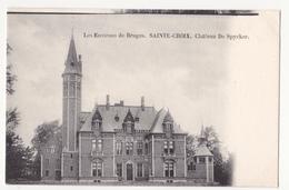 Sint Kruis: Château De Spycker. - Brugge