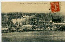 28 - AUNAY SOUS CRECY - Usine Et église - Frankreich