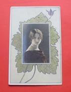 Ca. 1900 (1909) - Woman, Art Nouveau --- Femme , Secession Jugendstil --- 180 - Illustrateurs & Photographes