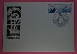 France 2017  Jean-Baptiste Charcot  ,enveloppe Pourqoui-Pas 1er Jour - Briefe U. Dokumente
