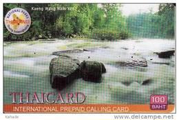 Thailand  Phonecard Cat Phonenet Nr. 4624  Waterfalls