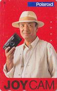 Télécarte Japon / 110-011 - Pub PHOTO POLAROID - Japan Phonecard - FOTO Adv. Telefonkarte - 185 - Japan