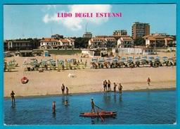 Lido Degli Estensi - Veduta Dal Mare - VG - Ferrara