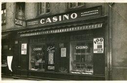 TARARE - Carte PHoto Du Magasin Casino Au 17 Rue De La Gare Succursale N° 478 - Tarare