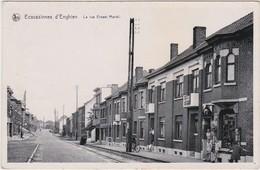 BELGIQUE BELGIE     ÉCAUSSINNES D'ENGHIEN  La Rue Ernest Martel - Ecaussinnes
